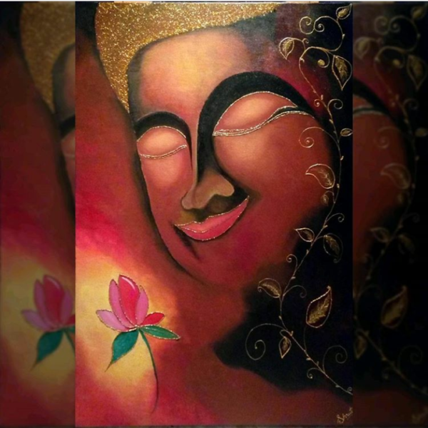 buddha painting online
